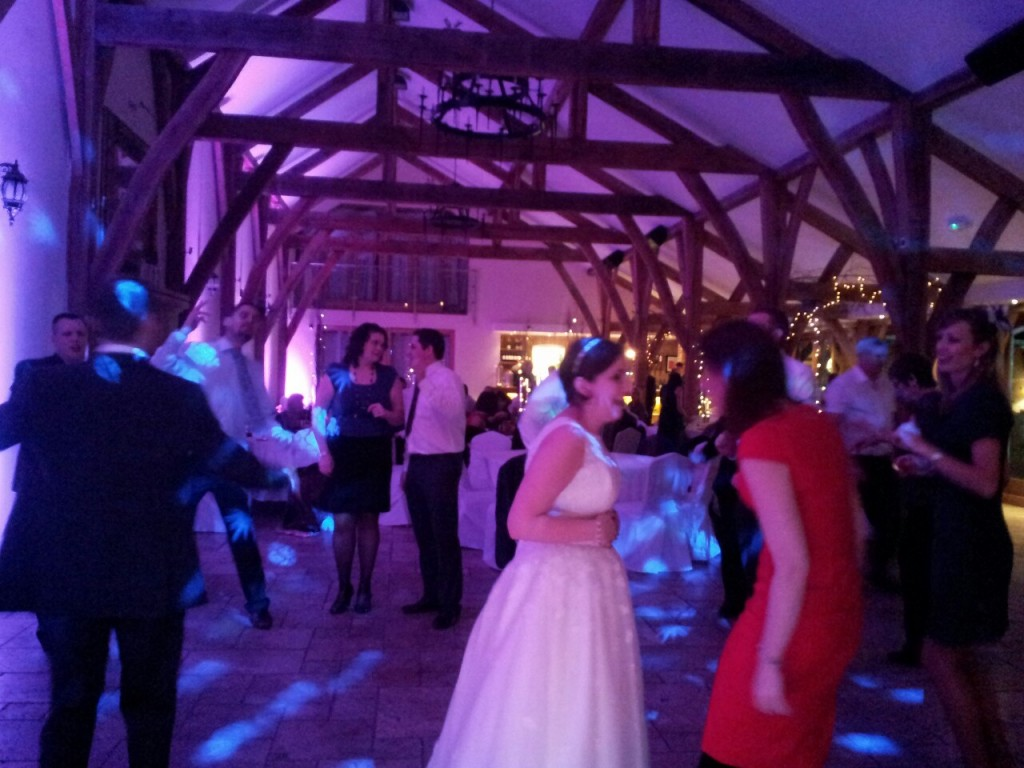 swancar farm wedding disco